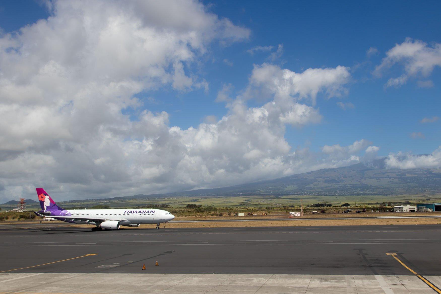 Hawaiian Airlines A330-200 Kahului