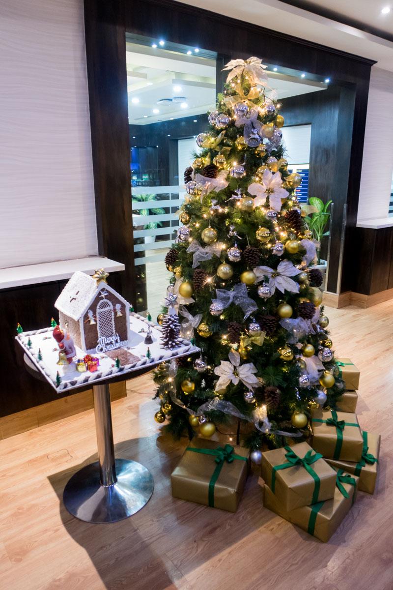 Allways Lounge Delhi Christmas Tree