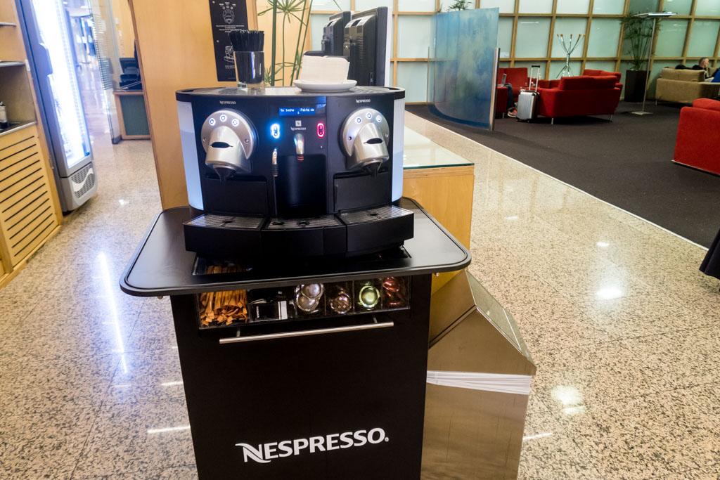 Sala VIP Canudas Nespresso