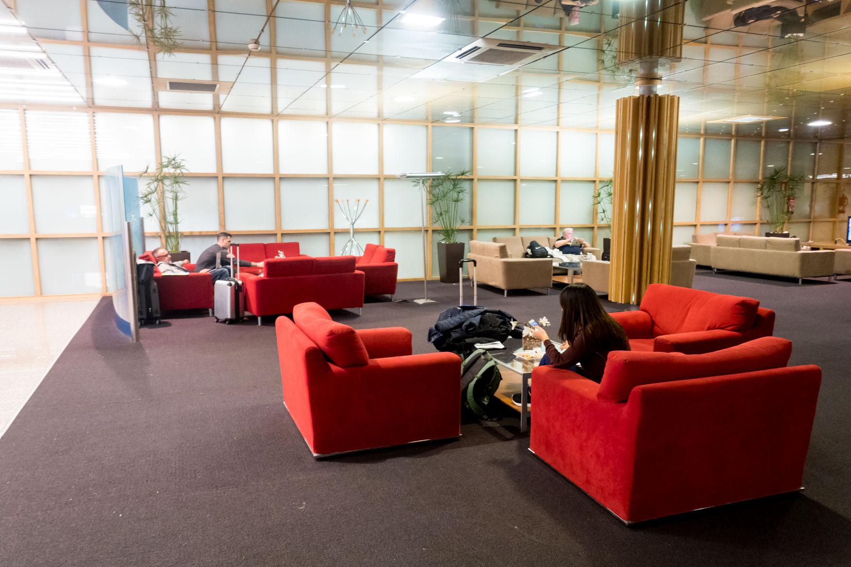 Seating of Sala VIP Canudas