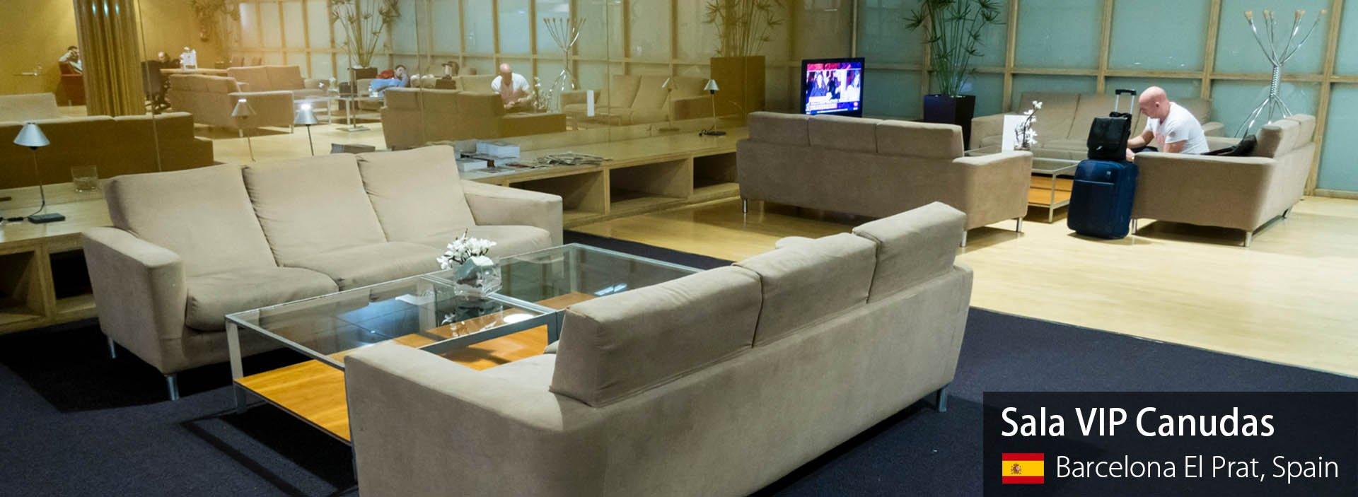 Lounge Review: Sala VIP Canudas at Barcelona El Prat (Priority Pass Lounge)