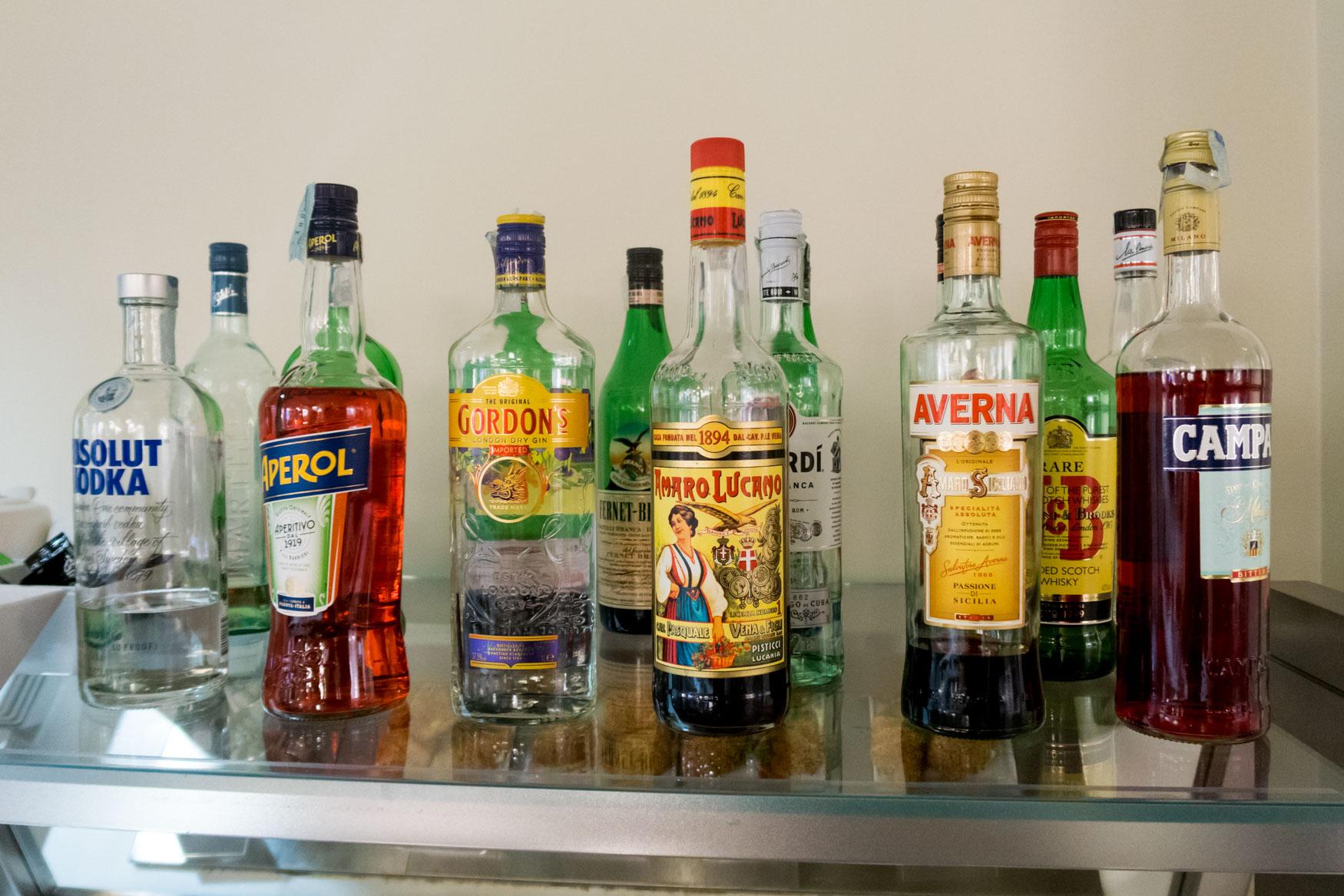 Club S.E.A. Sala Leonardo Milan Linate Alcohol