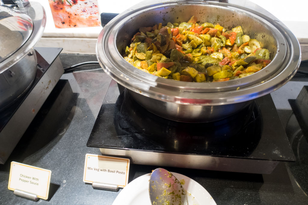 Mixed Vegetables with Basil Pesto