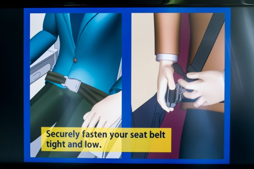 Japan Airlines Safety Video