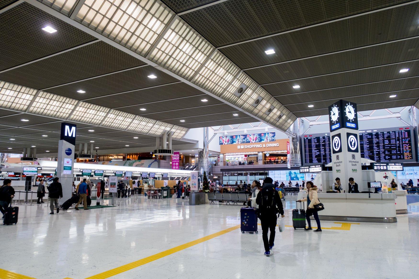 Tokyo Narita Airport Terminal