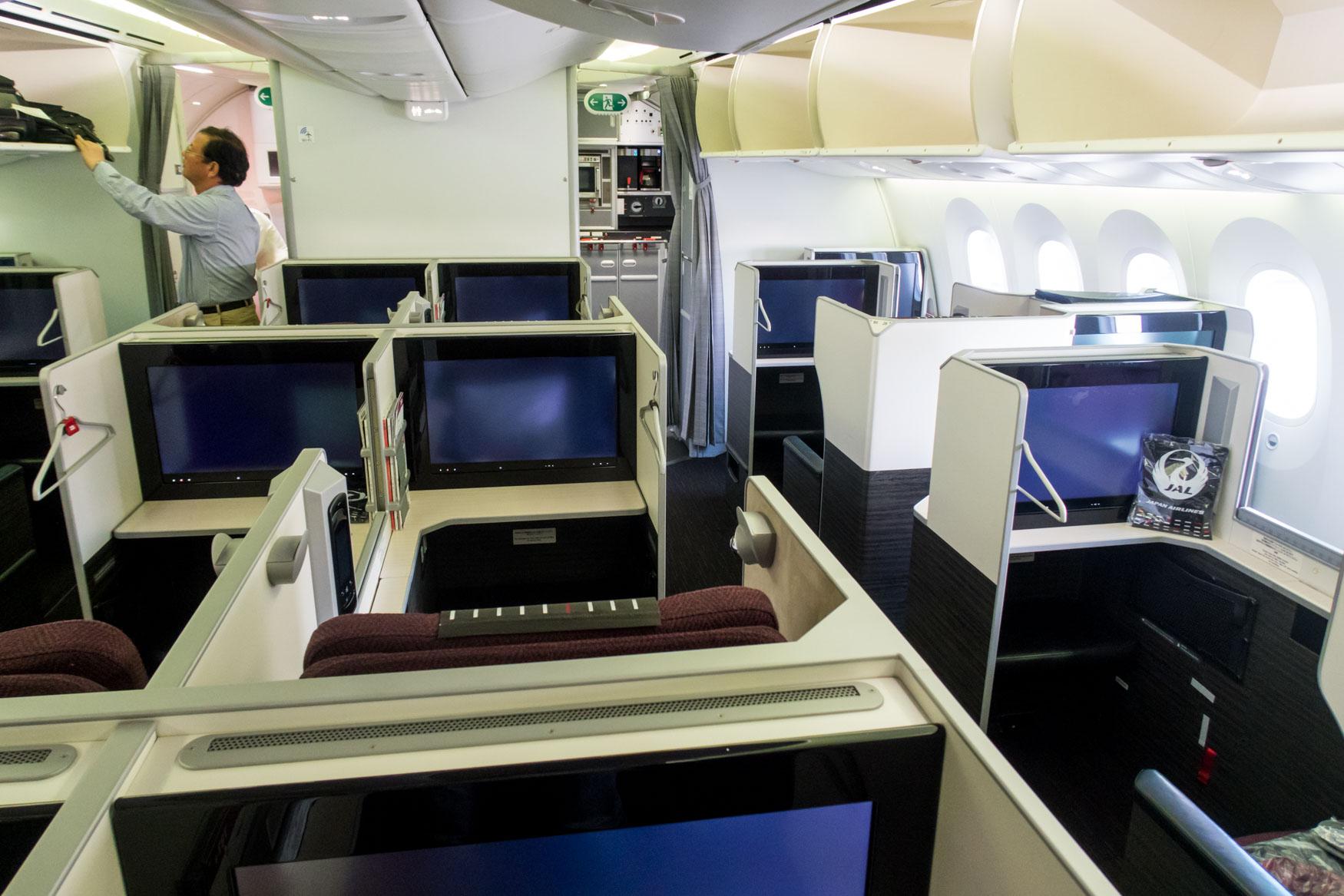 Japan Airlines Apex Suites Business Class Cabin