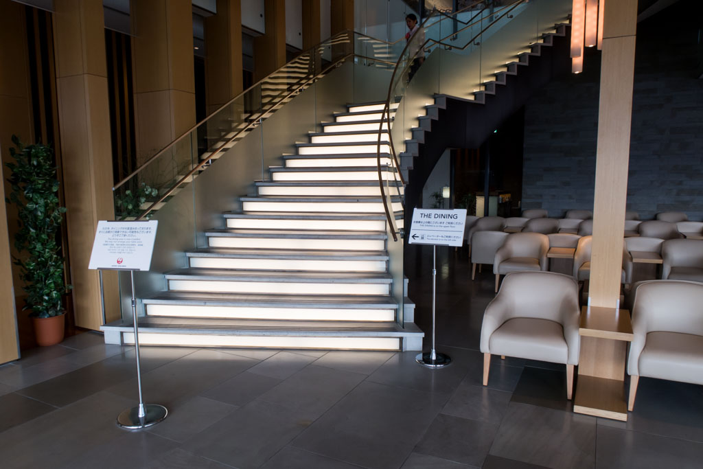 Staircase Leading to Dining Area
