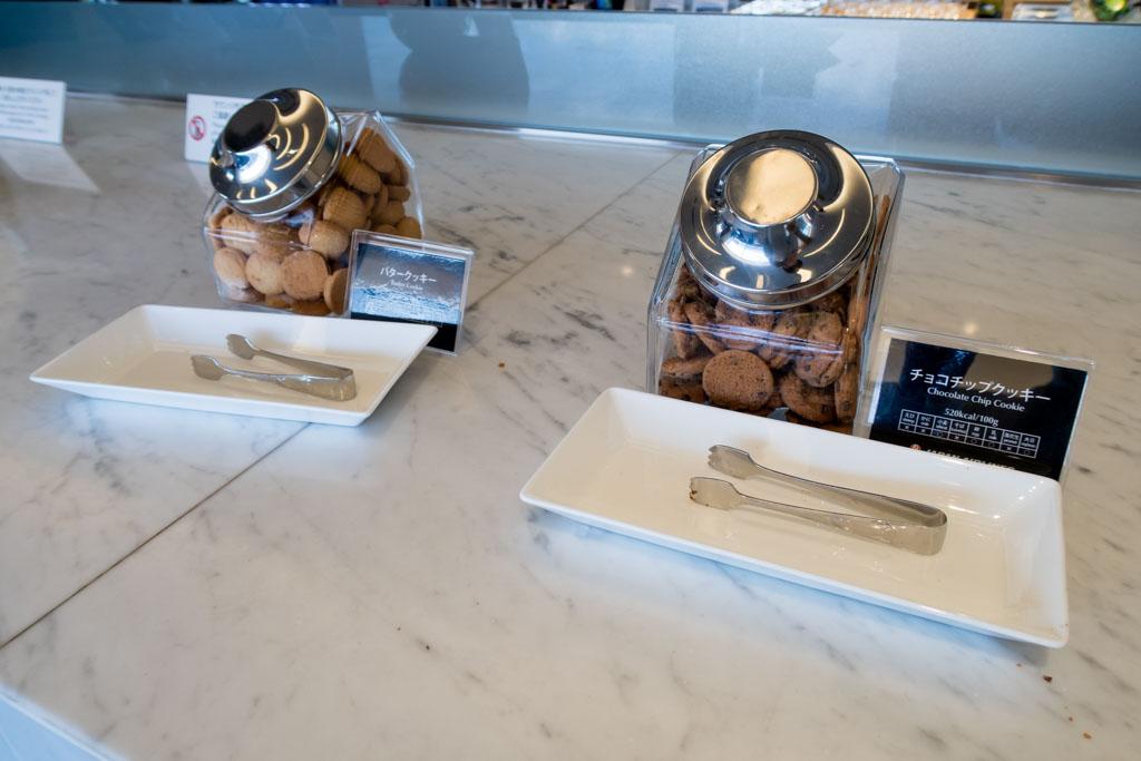 JAL Sakura Lounge Cookies