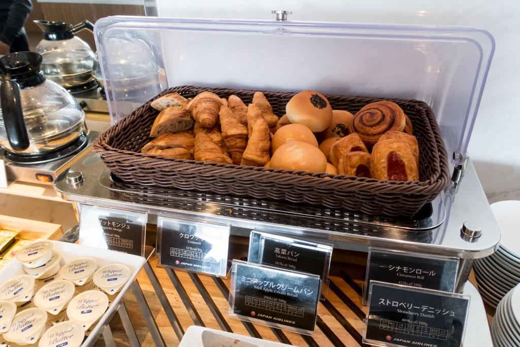 JAL Sakura Lounge Pastries