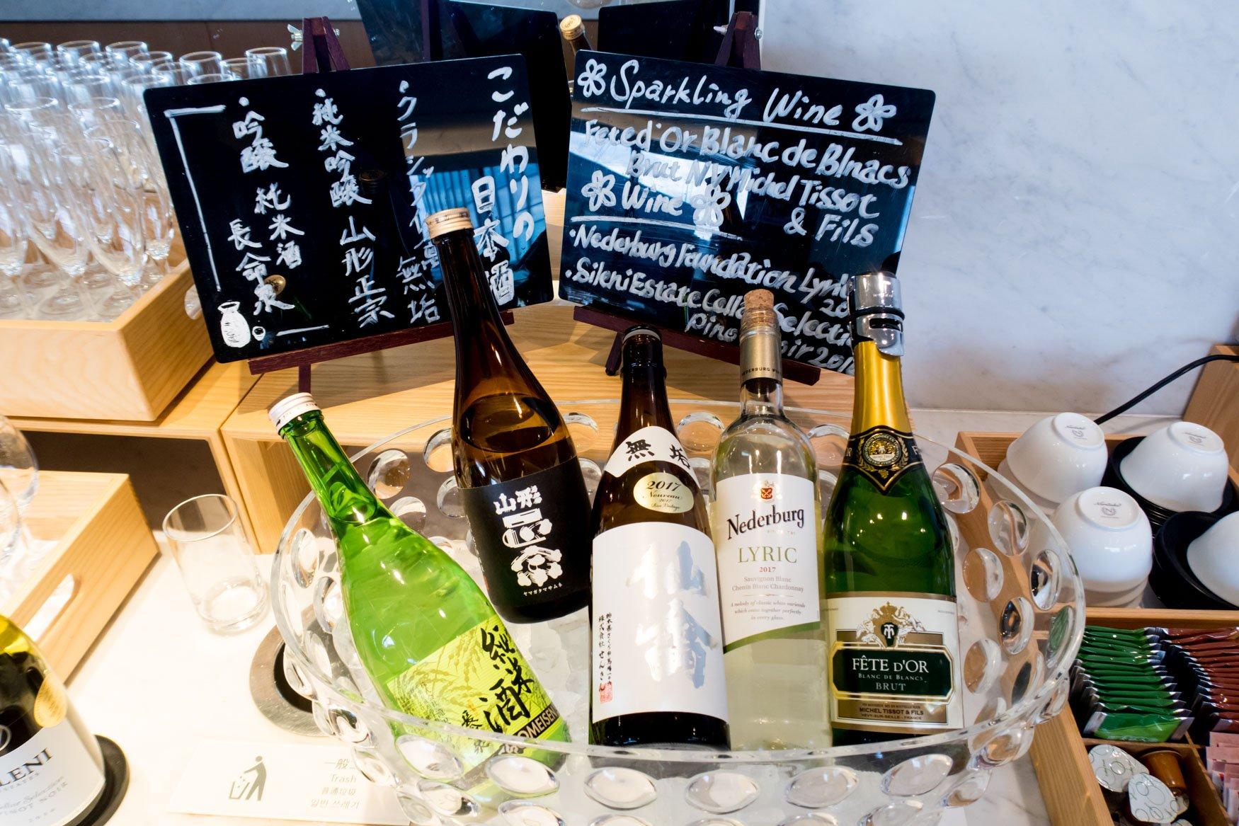 Wine and Sake