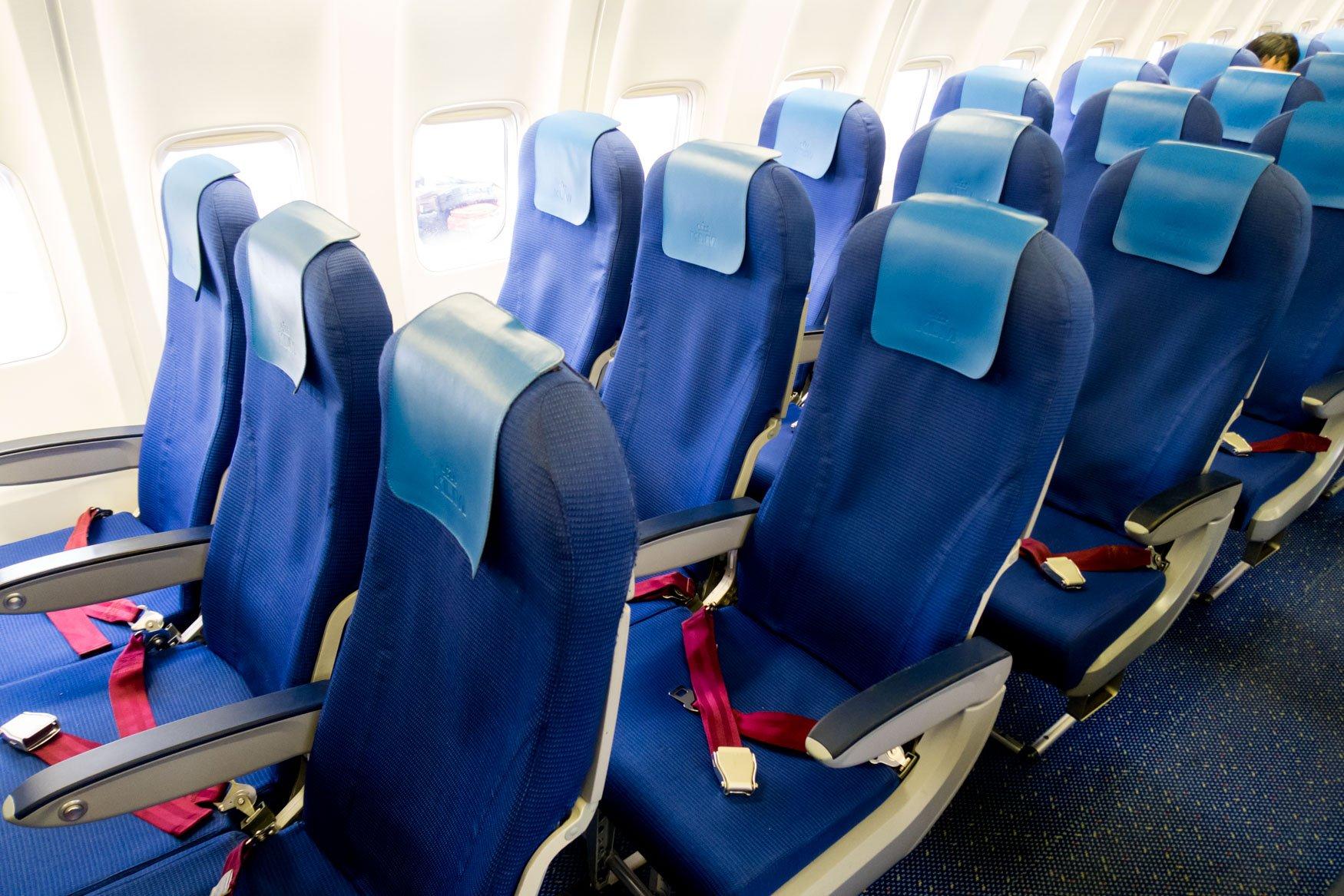 KLM Intra-European Economy Class Seats