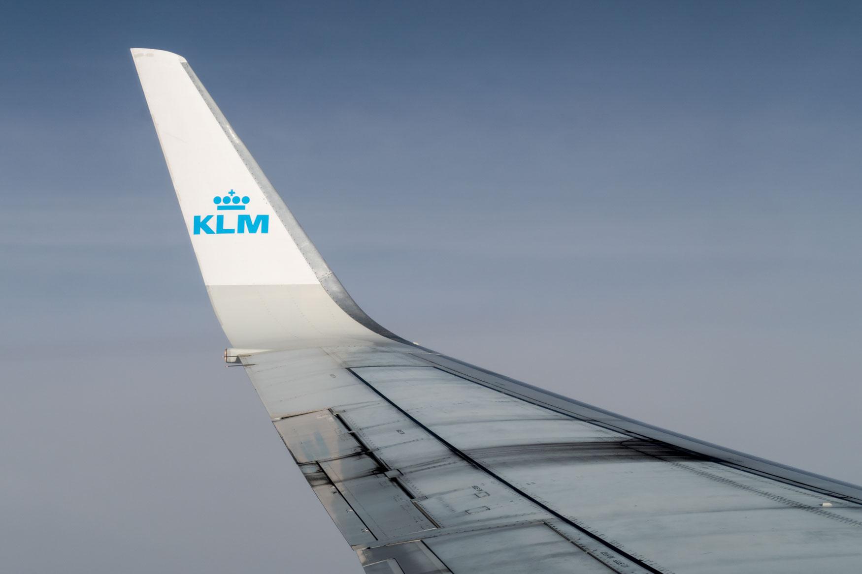 KLM Boeing 737-800 Winglet