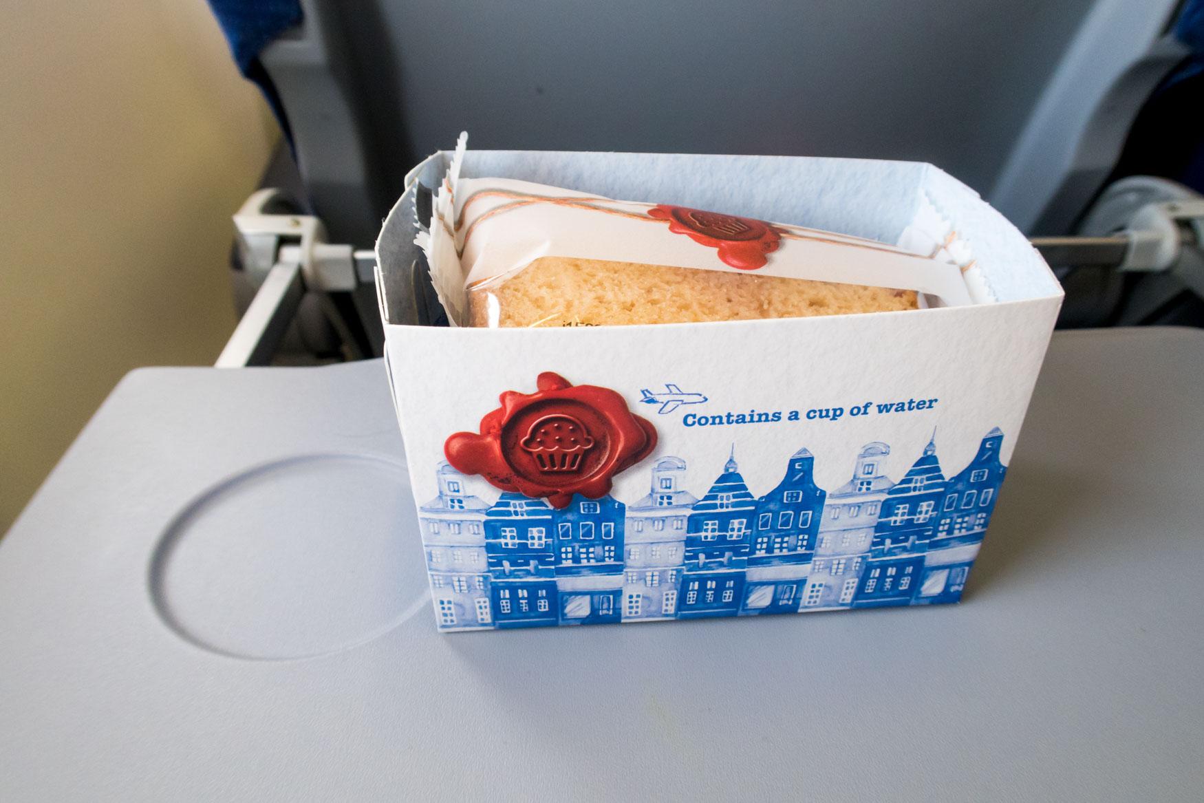 KLM Intra-European Snack Box Amsterdam-Vienna