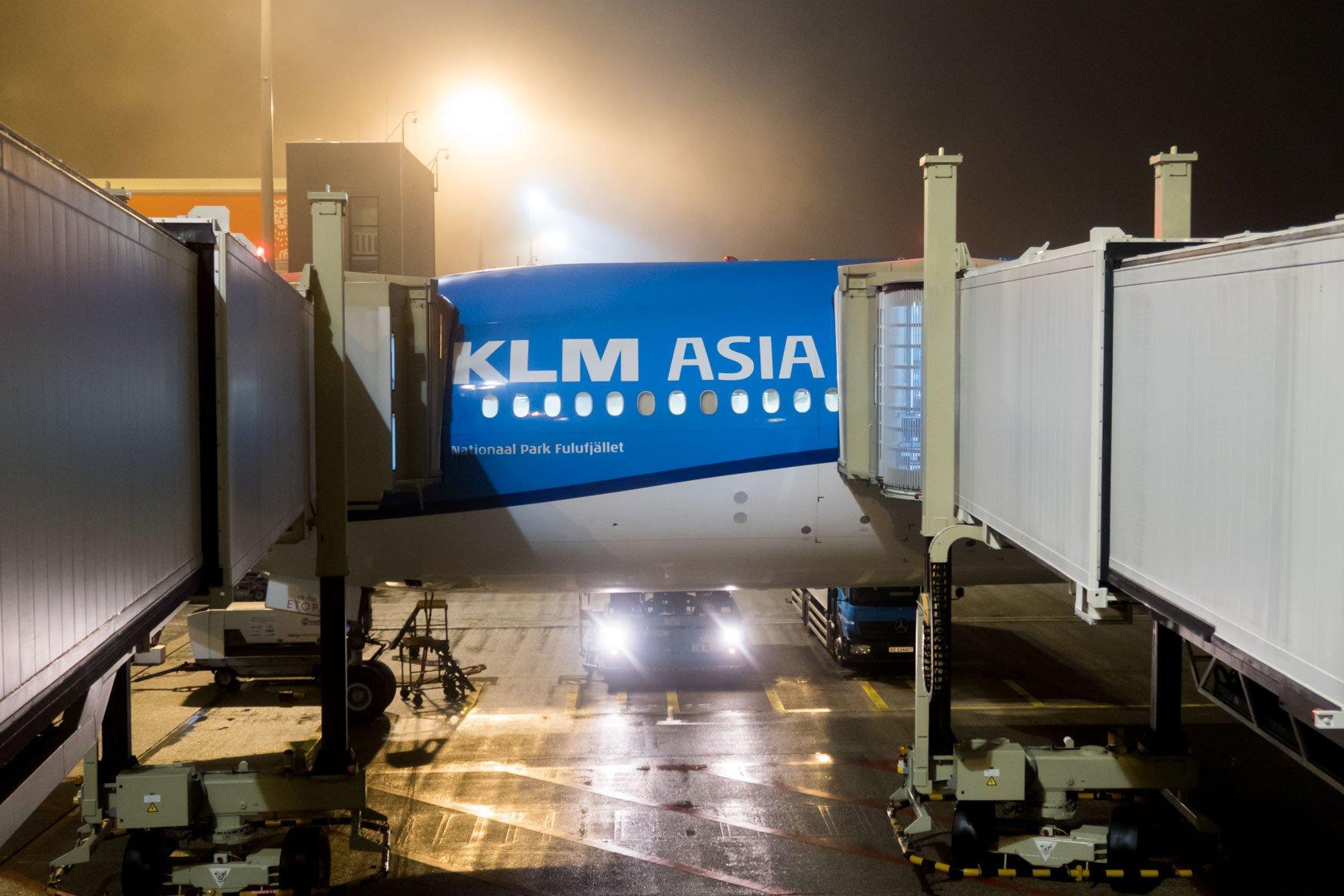KLM Asia Boeing 777-300ER at Amsterdam Schiphol