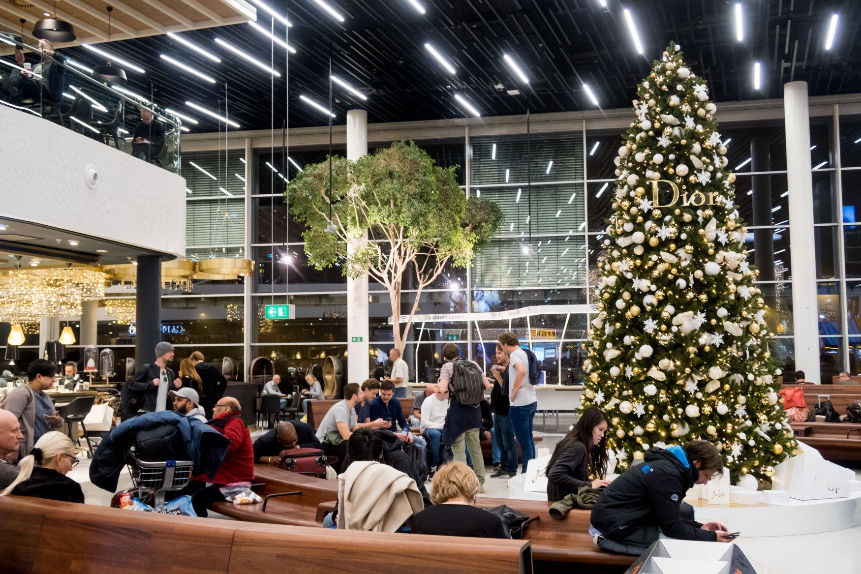 Amsterdam Schiphol Airport Christmas Tree