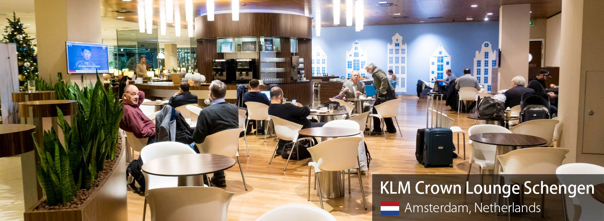 Lounge Review: KLM Crown Lounge Schengen at Amsterdam Schiphol