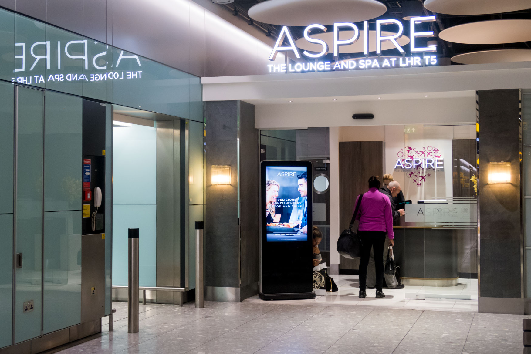 Aspire The Lounge and Spa at LHR T5