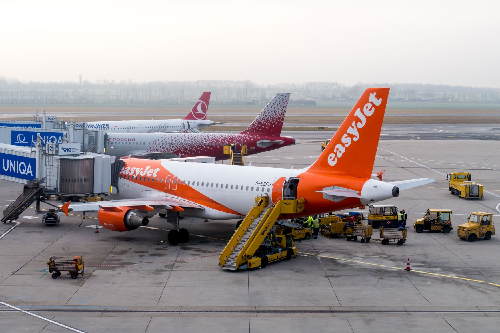 Vienna Airport Apron