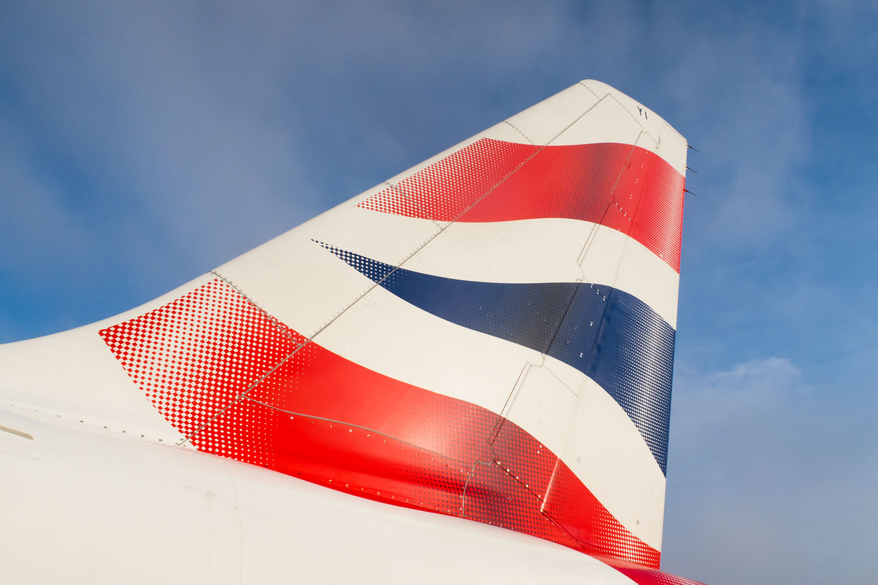British Airways Airbus A320 Tail