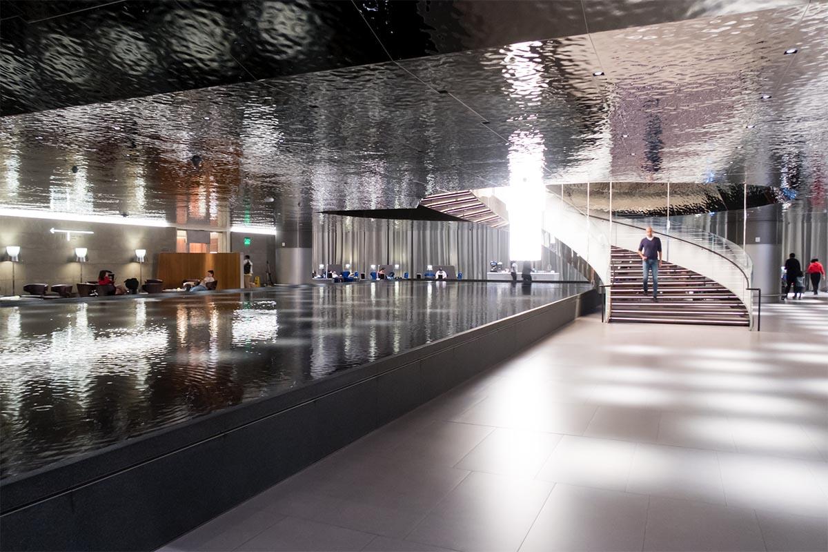 Qatar Airways Al Mourjan Lounge Doha
