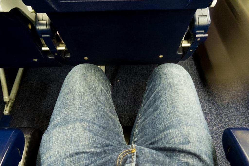 Ryanair Legroom