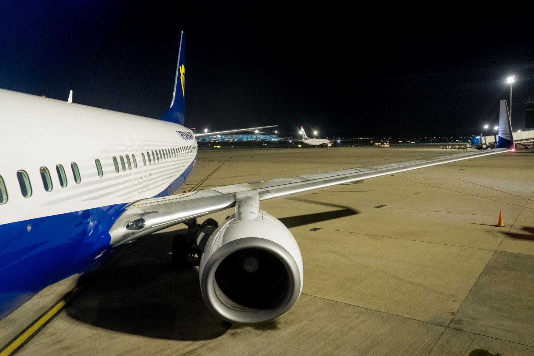 Ryanair Boeing 737-800 Boeing El Prat Airport