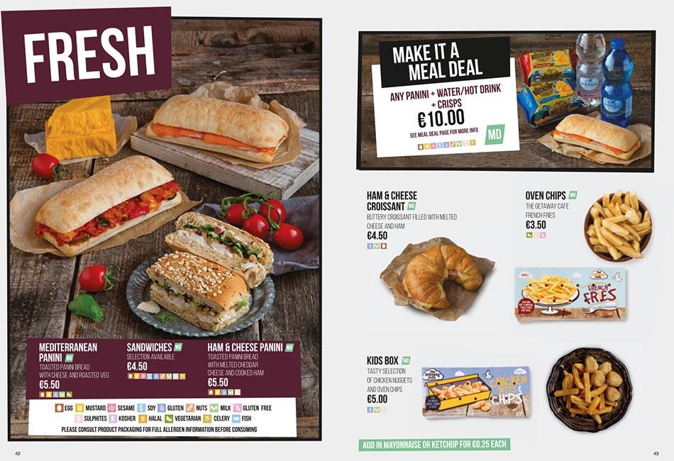 Ryanair Food for Sale