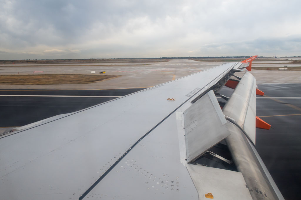 Slowing Down at Barcelona Airport
