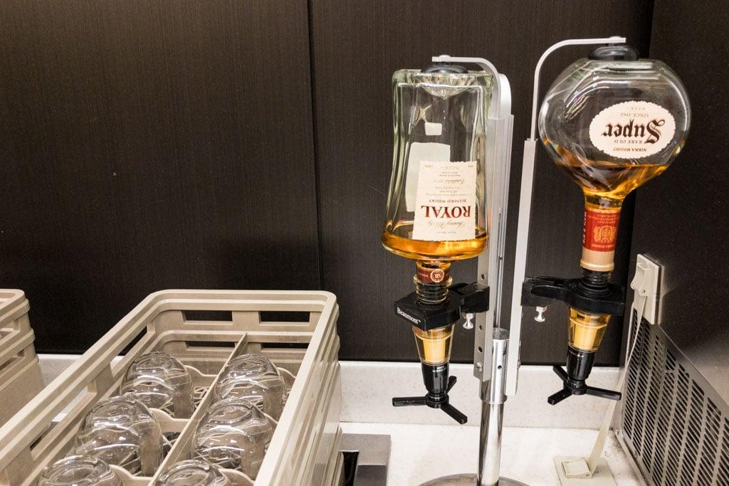 ANA Lounge Domestic Whisky