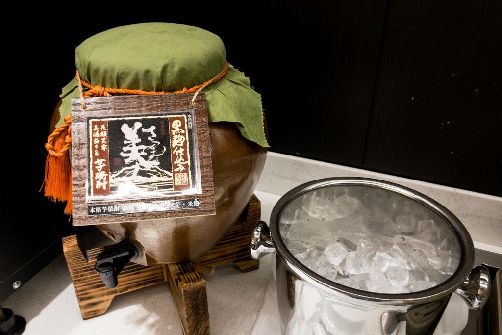 ANA Lounge Domestic Shochu