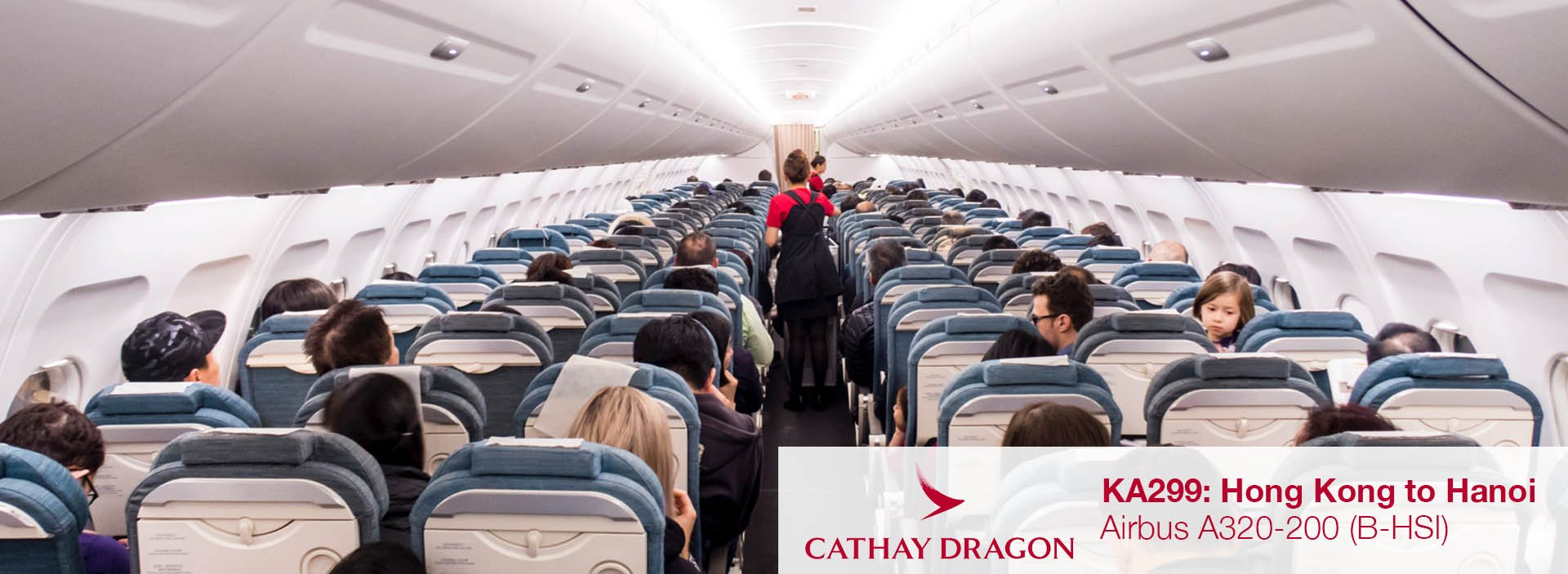 Flight Review: Cathay Dragon A320 Economy Class from Hong Kong to Hanoi