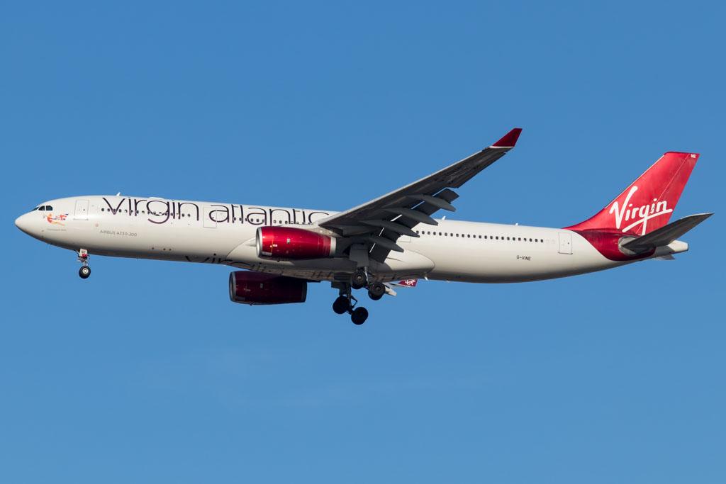 Virgin Atlantic A330 at JFK