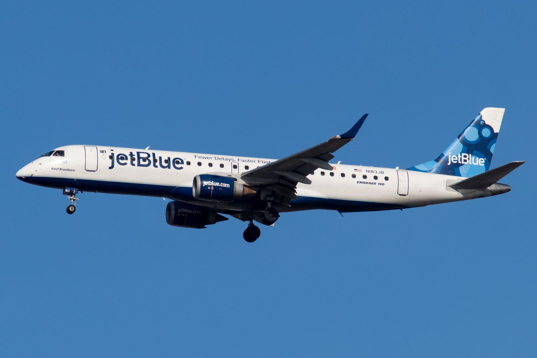 JetBlue Embraer ERJ-190