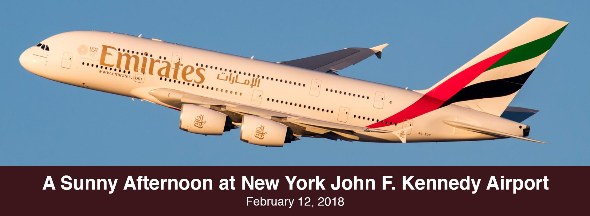 Spotting Report: A Sunny Afternoon at New York John F. Kennedy Airport