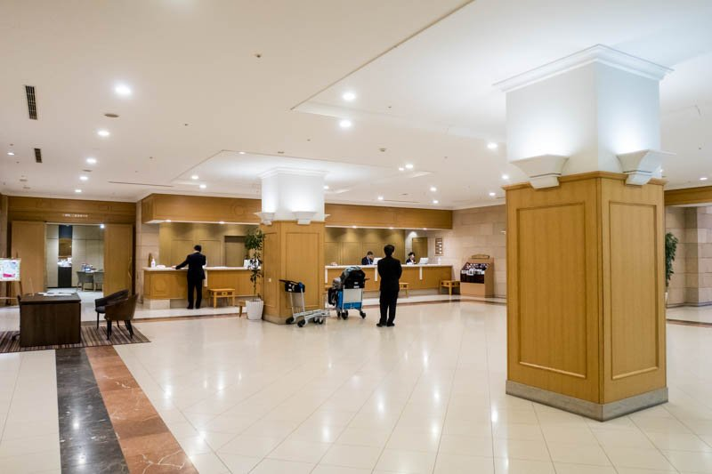 Sapporo New Chitose Airport Crowne Plaza Hotel Lobby
