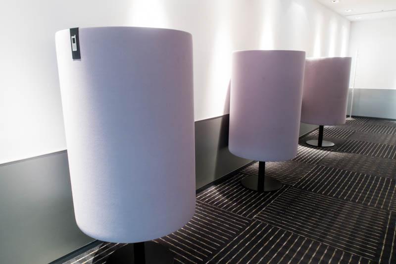Phone Booths in Narita ANA Lounge