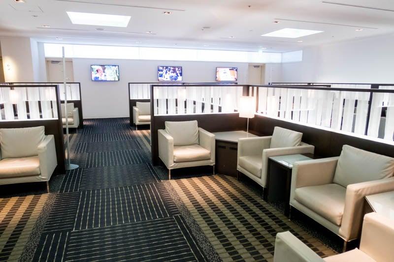 ANA Lounge Tokyo Narita Seating
