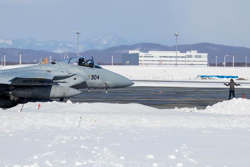 JASDF F-15 at Chitose Airbase