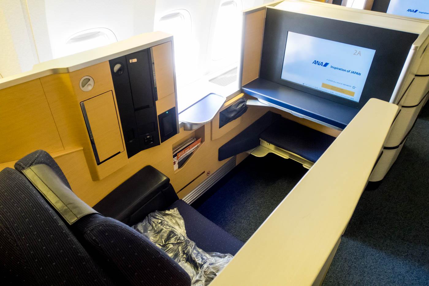 ANA 777-300ER First Class Seat