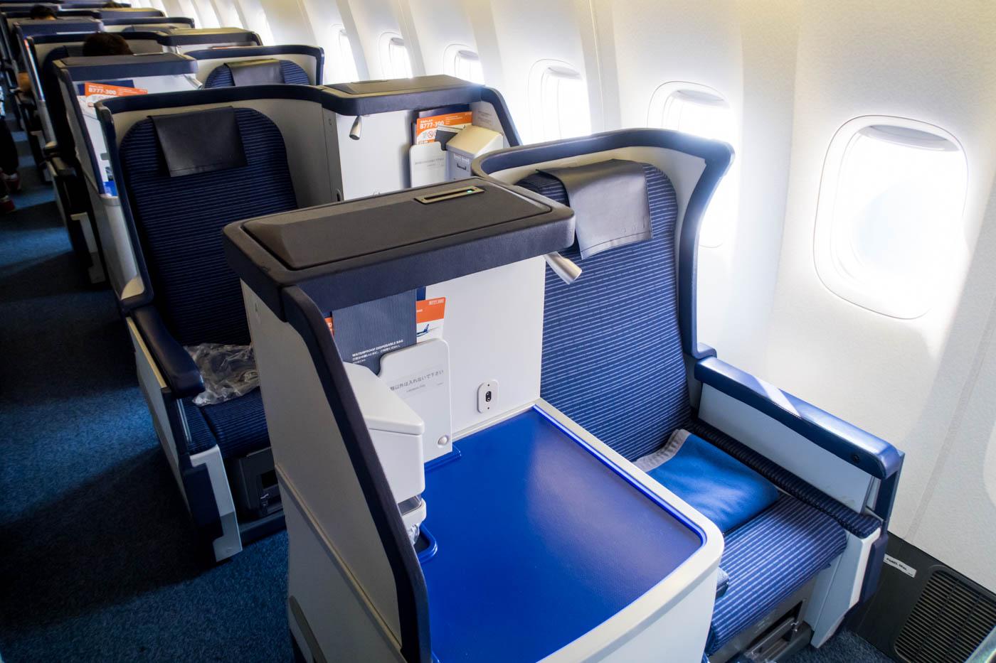 ANA 777-300ER Business Class Cabin