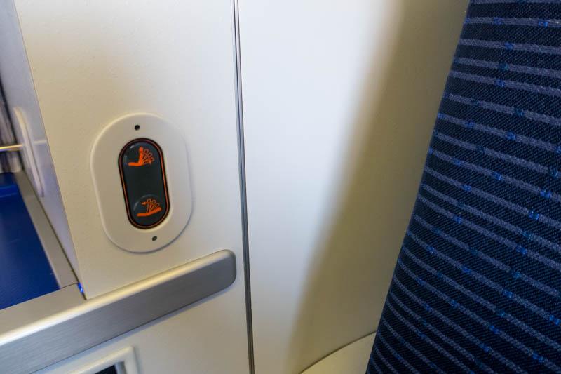 Extra Seat Controls