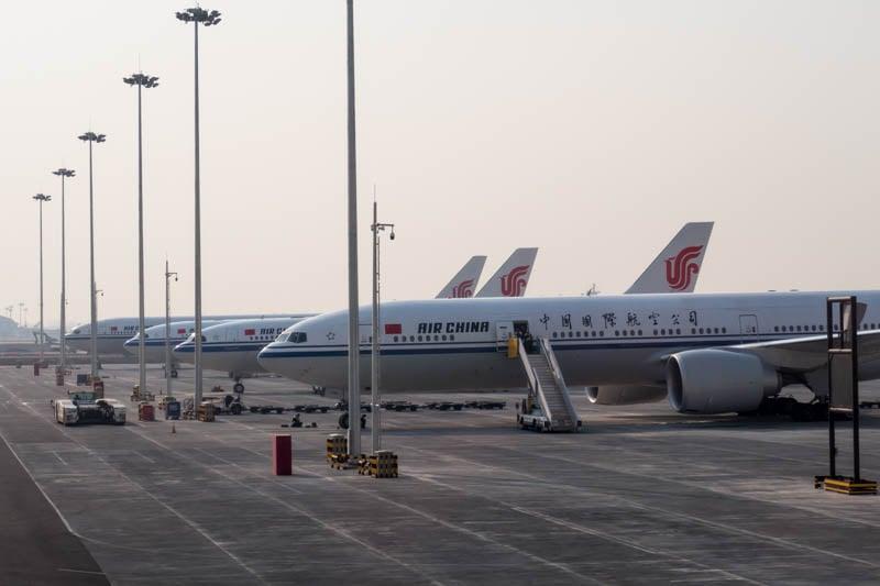 Air China Aircraft in Beijing