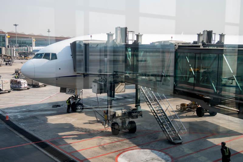 Boarding ANA PEK-HND
