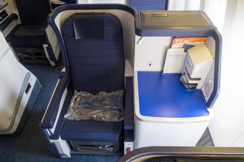 ANA Business Class 777-300ER Aisle Seat