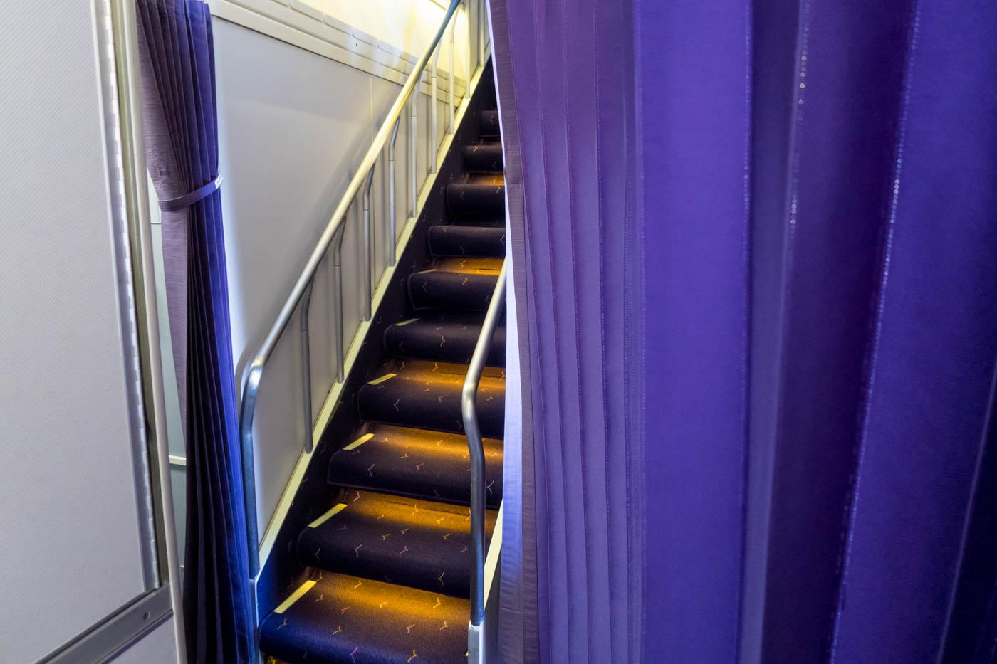 Thai Airways Boeing 747-400 Staircase