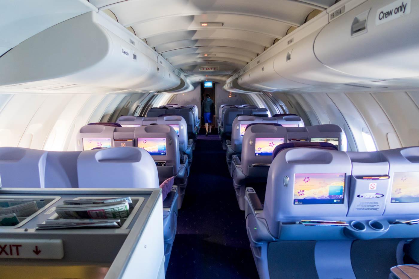 Thai Airways Boeing 747-400 Upper Deck