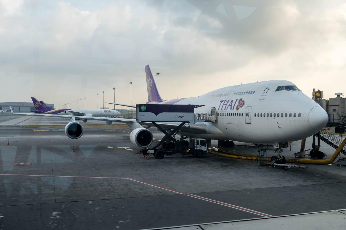 Thai Airways 747-400