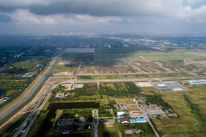 Seconds after Take-Off from BKK