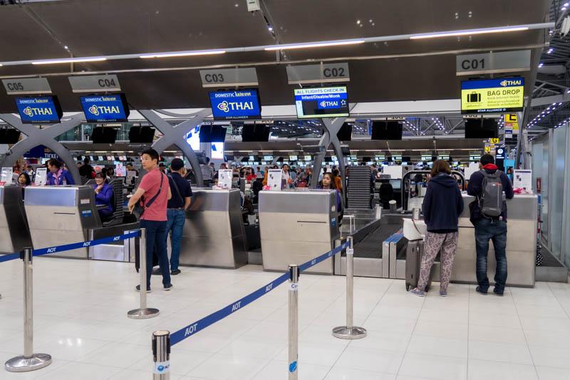Thai Airways Domestic Check-in