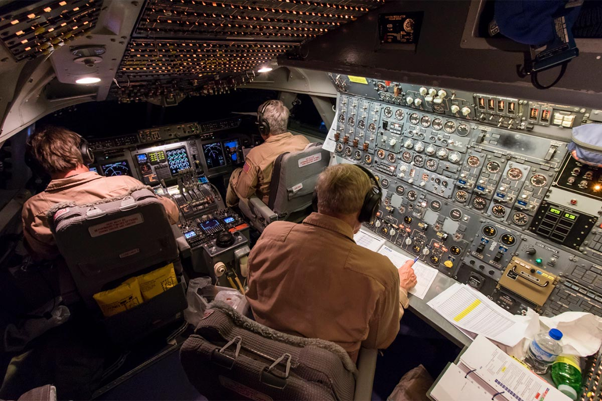 NASA SOFIA Flight Deck